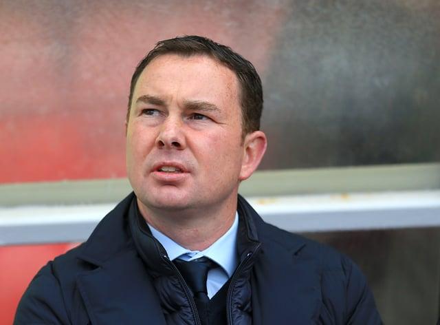 Derek Adams' Morecambe top the League Two standings