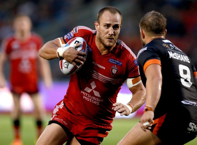 Lee Mossop is ready for this weekend's Challenge Cup final
