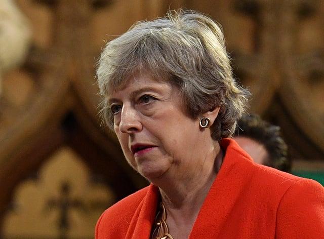 Conservative MP Theresa May