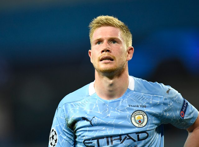Kevin De Bruyne is facing a spell on the sidelines (Peter Powell/PA)