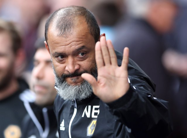 Wolves boss Nuno Espirito Santo had five of his players away with Portugal.