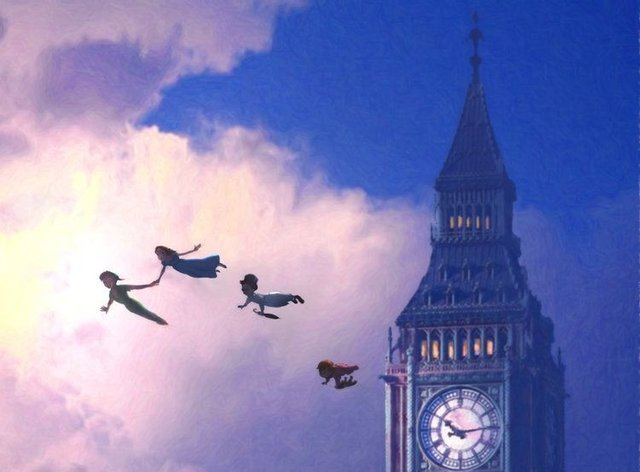 Peter Pan has had a warning added before the film starts