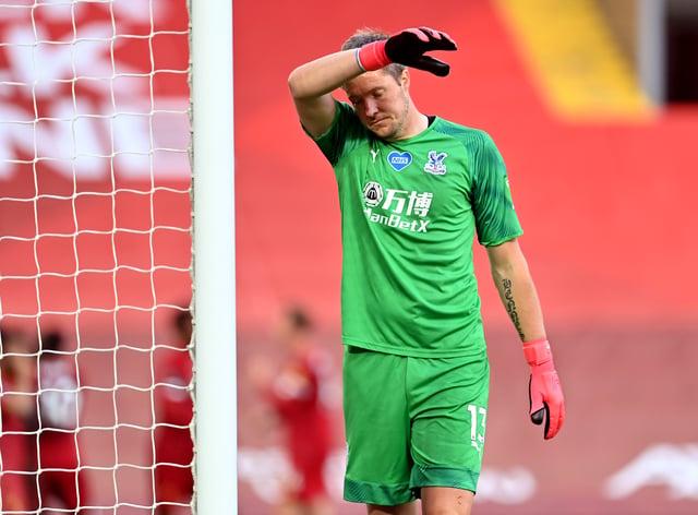 Crystal Palace goalkeeper Wayne Hennessey