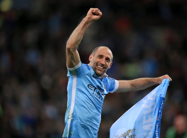 Pablo Zabaleta was a fan favourite at Manchester City (Mike Egerton/PA)