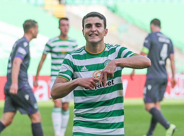 Celtic's Mohamed Elyounoussi is looking forward to the visit of Rangers
