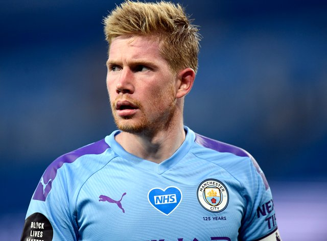 Kevin De Bruyne is set for a spell on the sidelines (Peter Powell/NMC Pool/PA)