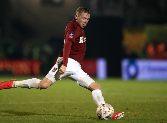 Northampton midfielder Nicky Adams fears fans will riot if they continue to be sidelined from matches