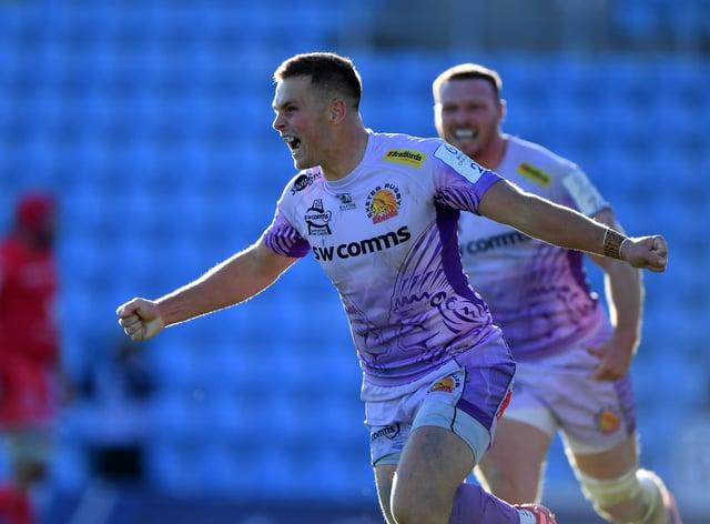 Joe Simmonds says Exeter will bid to hunt down Finn Russell
