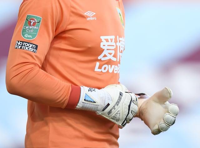 Burnley goalkeeper Nick Pope kept 15 Premier League clean sheets last season