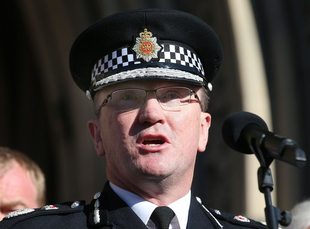 Greater Manchester Police Chief Constable Ian Hopkins