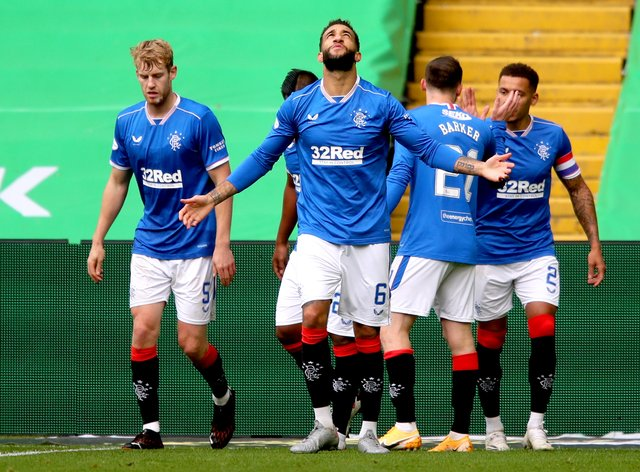 Rangers claimed victory in the opening Old Firm game of the season
