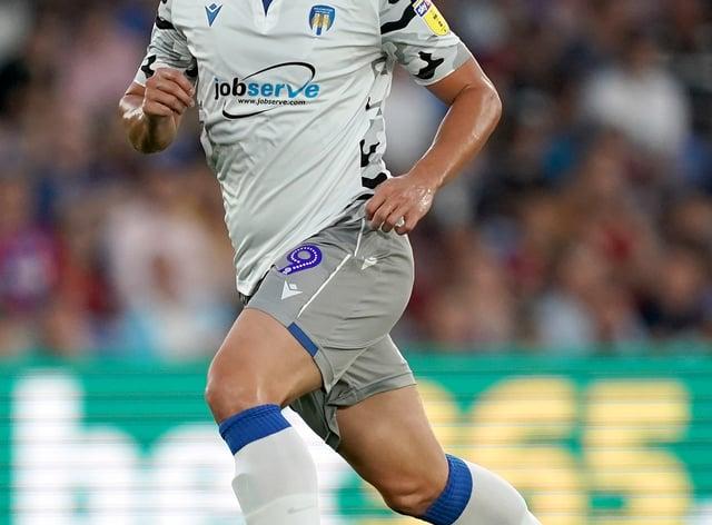 Luke Norris scored twice in Colchester's defeat