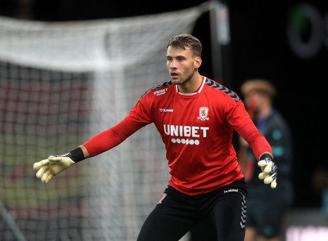 Reading could not get past Middlesbrough goalkeeper Marcus Bettinelli