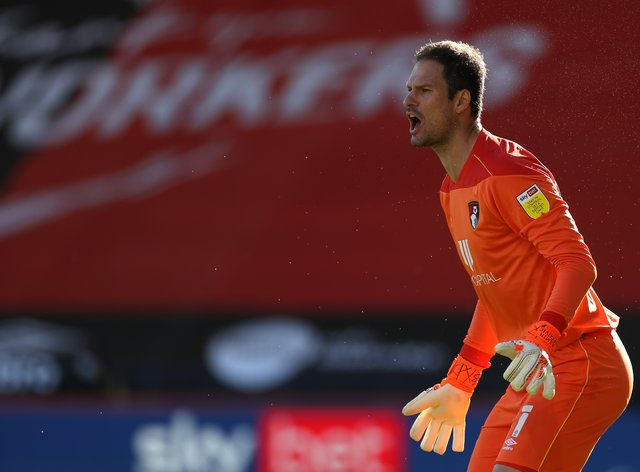 Bournemouth goalkeeper Asmir Begovic was on form