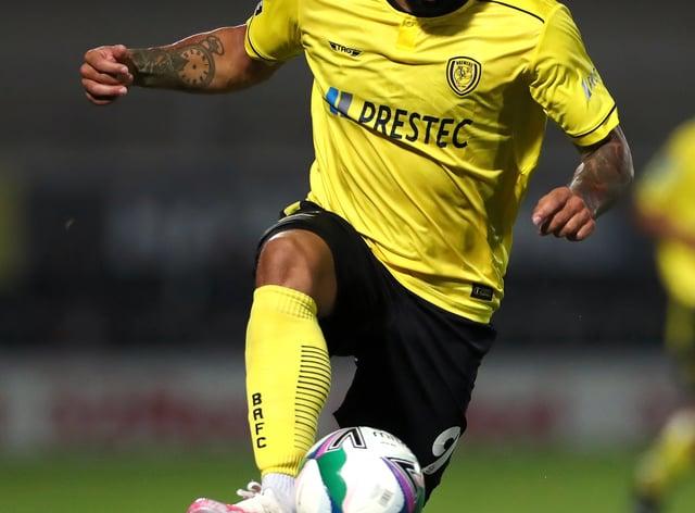 Kane Hemmings netted the equaliser for Burton