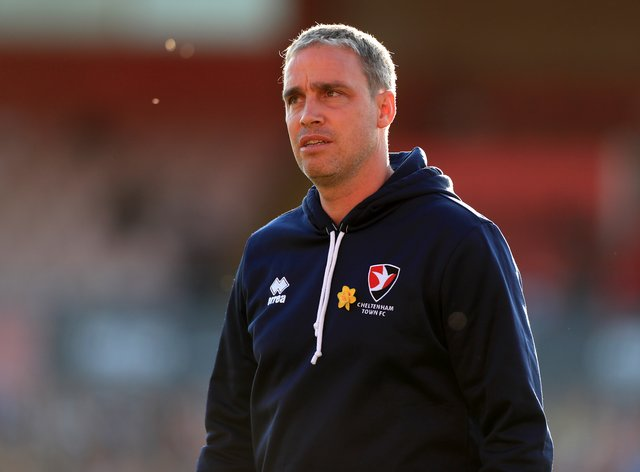 Cheltenham manager Michael Duff was delighted with his side's performance