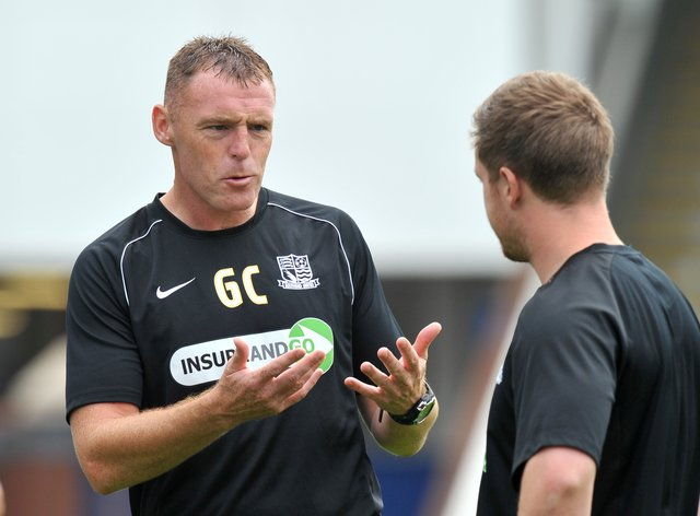 Graham Coughlan's Mansfield are without a win in nine games