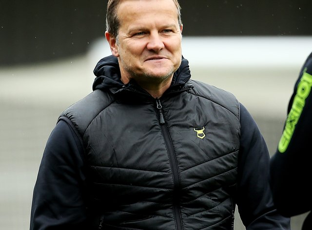 Mark Cooper's Forest Green were 1-0 winners over Stevenage
