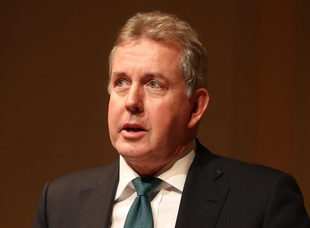 Lord Darroch resigned as the UK's ambassador to Washington last year after the leaking of messages he wrote criticising the Trump White House