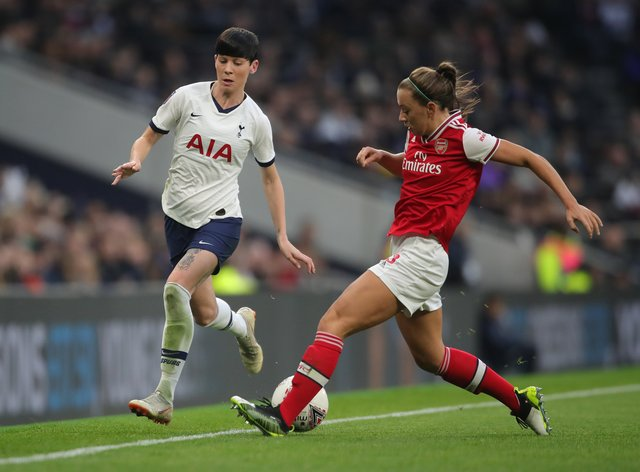 It's north London derby day as Arsenal and Spurs go head-to-head in the WSL