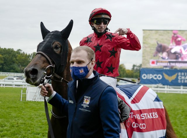 The Revenant after winning the QEII at Ascot