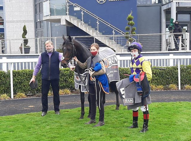Ecliptical was a memorable winner of the valuable of the Foran Equine Irish EBF Auction Race Final at Naas