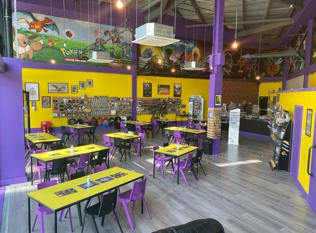 Inside a Geek Retreat store