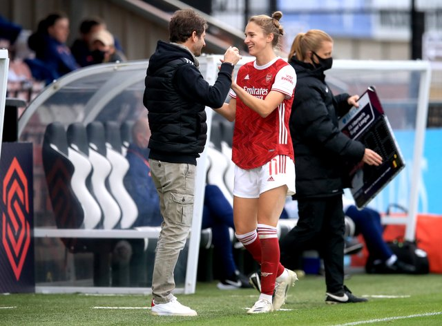 Miedema is in line for a new contract at Arsenal