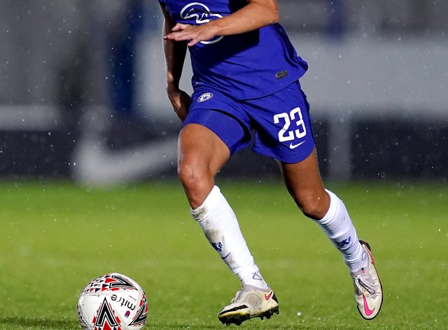 Harder has been 'impressed' by the WSL