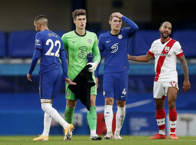 Chelsea conceded three more goals against Southampton at the weekend