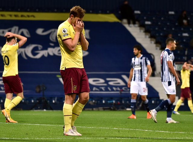 Chris Wood hit the bar in the second half at West Brom