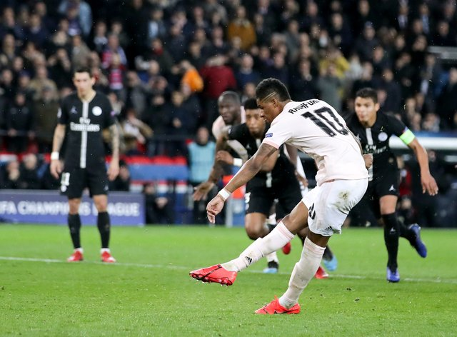 Manchester United knocked PSG out of the Champions League in 2019