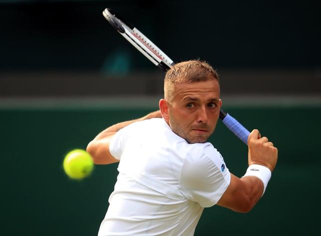 Dan Evans won his opening match in Antwerp