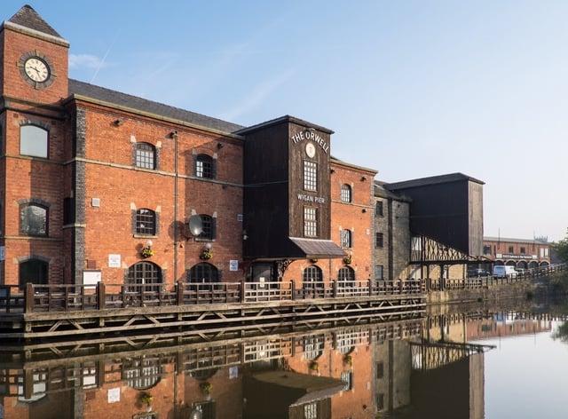 The Wigan Pier Quarter (Wigan Council/PA)