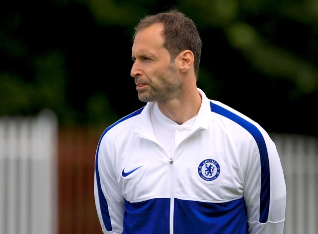 Petr Cech is now technical director with the Blues