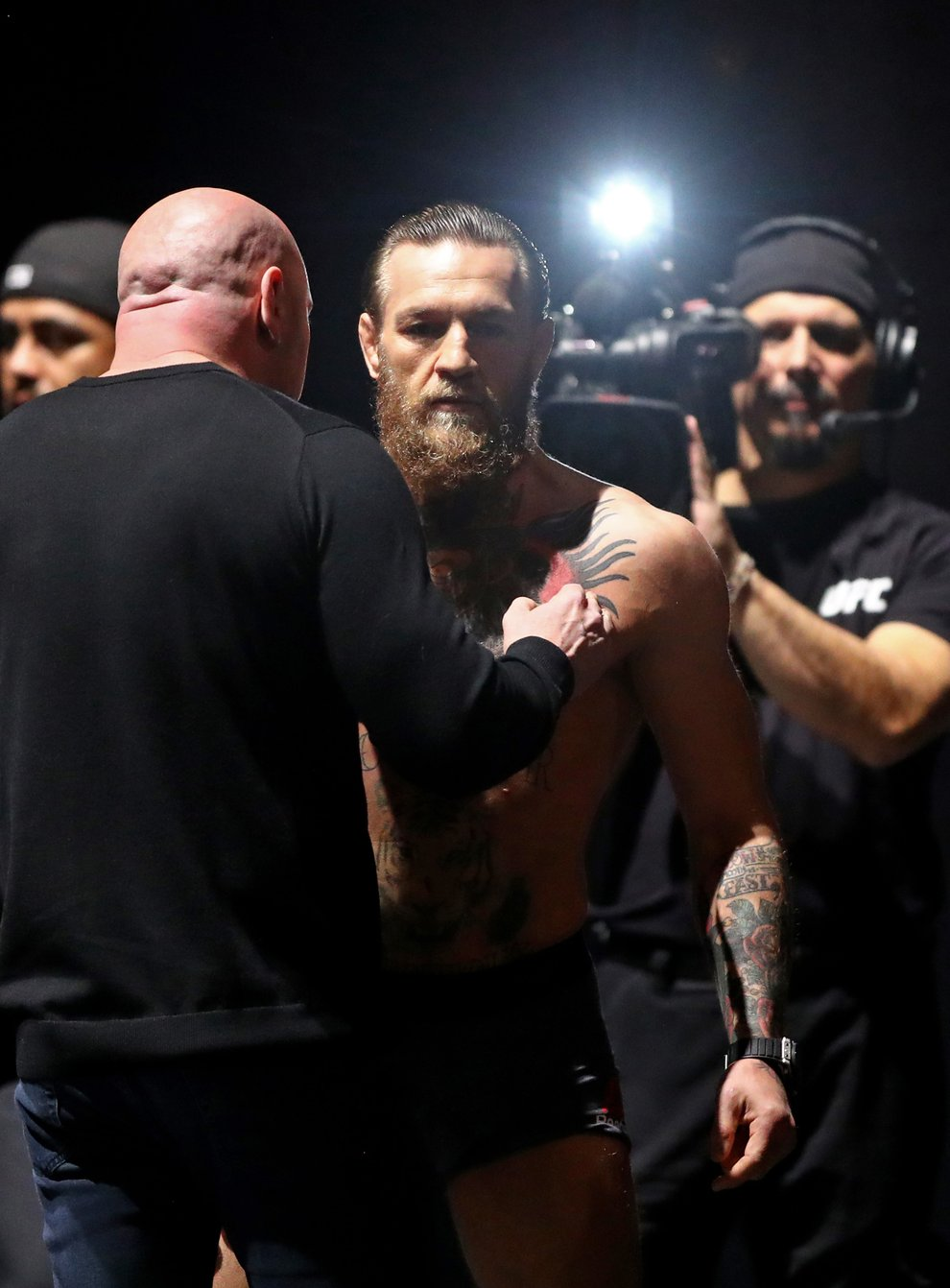 McGregor is expected to come out of retirement for a fight with Poirier in January