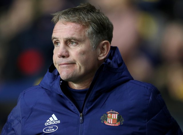 Sunderland manager Phil Parkinson could hand a debut to latest signing Callum McFadzean against Portsmouth