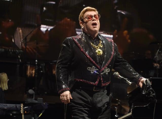 Barbie has dedicated a doll to Sir Elton John