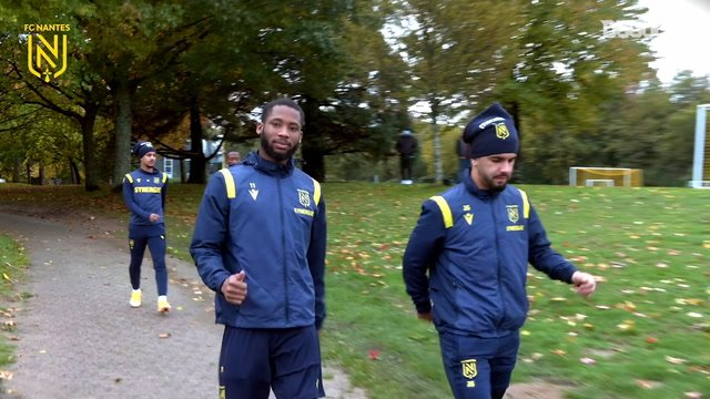 FC Nantes continues its preparation before Lens