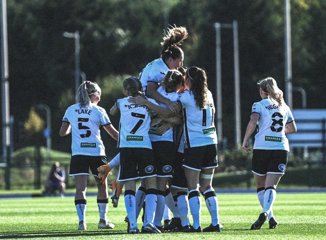 Swansea City Ladies will compete in the first round of the Women's Champions League