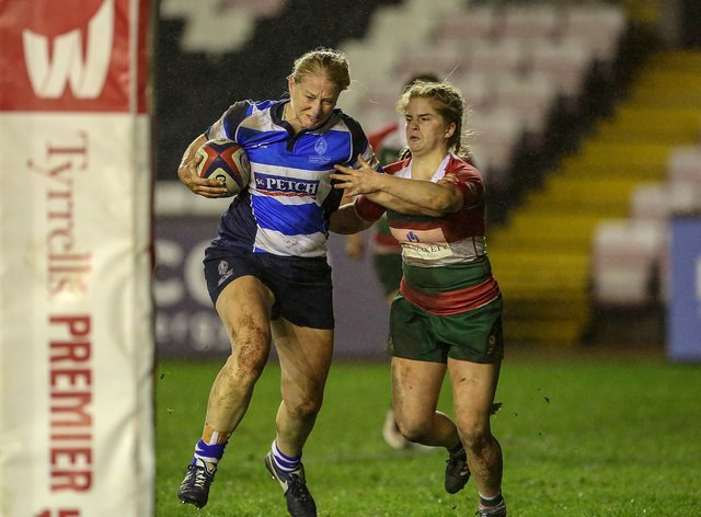 Taylor played for DMP Durham Sharks for 14 years