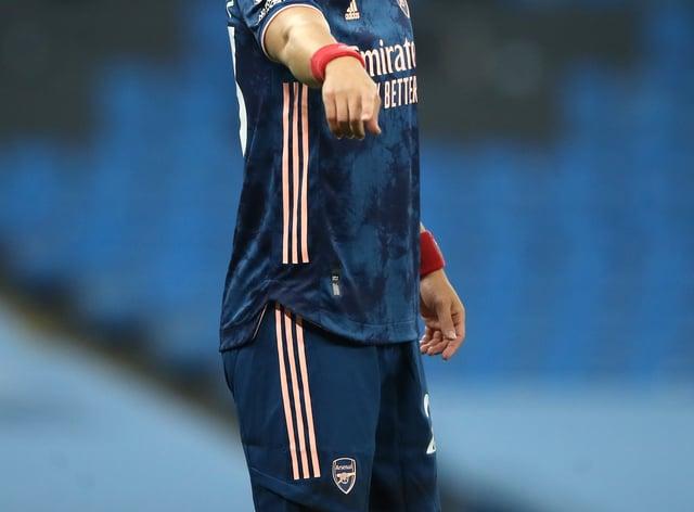 David Luiz scored Arsenal's equaliser in their Europa League win at Rapid Vienna on Thursday.