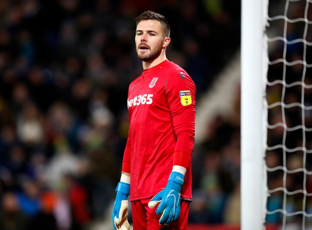 Jack Butland tested positive for coronavirus as soon as signed for Crystal Palace and his arrival at the club has been delayed