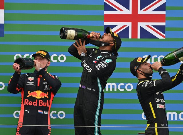 Hamilton equalled Michael Schumacher's record of 91 GP victories last time out