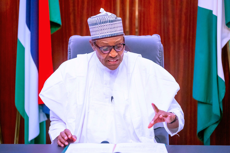 Nigeria's president blames 'hooliganism' for deaths of civilians