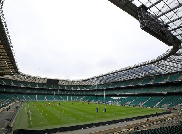 Twickenham was due to host the match