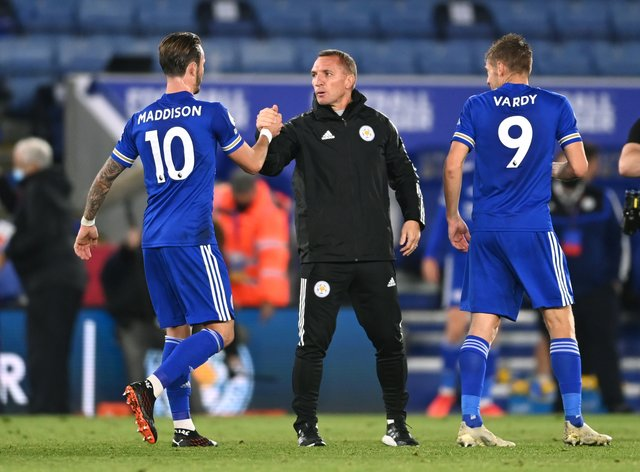 Leicester manager Brendan Rodgers wants his side to embrace their fixture list