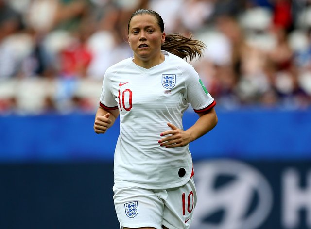 Fran Kirby's last England match was at the 2019 World Cup