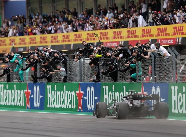 Lewis Hamilton won his 92nd career race
