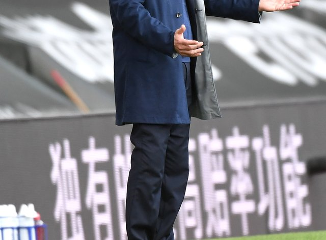 Everton manager Carlo Ancelotti appears frustrated during the match at St Mary's
